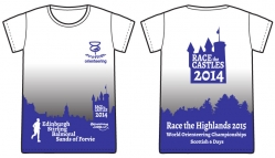 Race the Castles T-shirt